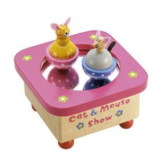 Cat and Mouse Music Box | When I Was a Kid