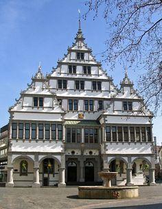 Paderborn, Deutschland - wunderschönes Rathaus!