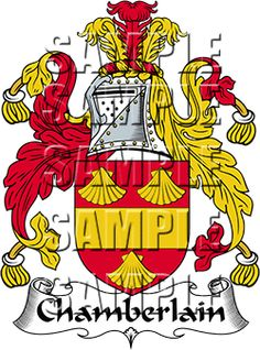 Chamberlain Family Crest apparel, Chamberlain Coat of Arms gifts