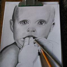 Desenho, lapis.
