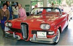 Car / Auto - Ford Edsel Citation (The Year- 1958), Classic Automobile
