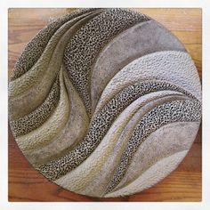 Drying!!! Tabletop or hanging! Very shallow bowl... - judi tavill ceramics www.jtceramics.com