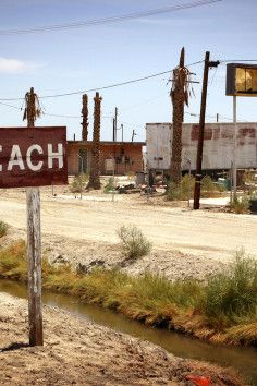 once a lush resort oasis, now a wasteland
