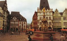 Trier, Germany, it's so cool to be there!!!!