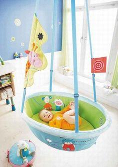 Berço-balanço: onde encontrar? - Quarto bebê: dicas de decoração para o quarto do bebê