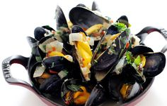One of my favs...!!!   Mussel broth by Paul Ainsworth