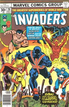 The Invaders Comic | The Invaders Comic Book 20 Marvel Comics 1977 VFN NM | eBay