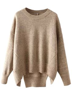 Comfy fall sweater.