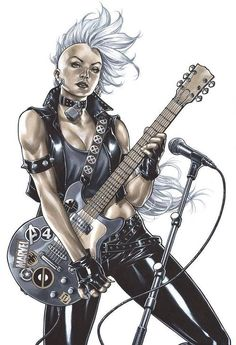 Storm by Mark Brooks  More @ http://pinterest.com/ingestorm/comic-art-storm & https://pinterest.com/ingestorm/comic-art-storm-black-panther & http://pinterest.com/ingestorm/comic-art-x-men & http://groups.yahoo.com/group/Dawn_and_X_Women & http://groups.google.com/group/Comics-Strips & http://groups.yahoo.com/group/ComicsStrips & http://www.facebook.com/ComicsFantasy & http://www.facebook.com/groups/ArtandStuff