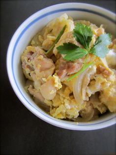 OYAKODON (Chicken and Egg Rice Bowl).