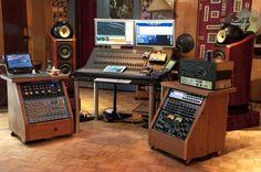 Sonic Ranch mastering room Studio Build, Studio Desk, Studio Living, Studio Room, Studio Setup, Music Recording Studio, Audio Studio, Recording Studio Design, Home Studio Music