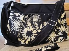 Mona bag with matching key fob by Sunset Dreams