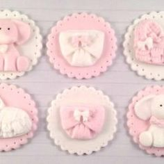 Baby Shower Cupcake Toppers, Fondant Cupcake Toppers, Twinkle Twinkle Little Star, Puerto Rico, Easy Royal Icing Recipe, Shower Bebe, Baby Shower Princess, Gold Baby Showers, Color Show