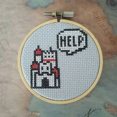 Check out this item in my Etsy shop https://www.etsy.com/listing/272983052/super-mario-3-castle-cross-stitch