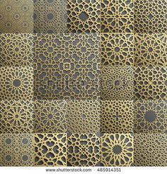 Islamic pattern . Seamless arabic geometric pattern, east ornament, indian ornament, persian motif, 3D. Endless texture can be used for wallpaper, pattern fills, web page background .