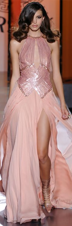 Versace ~ Couture Gown