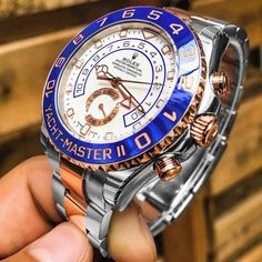 Two-tone rose with the new mercedes hands! Tag someone who would appreciate this heavy beast! Men's Watches, Fine Watches, Cool Watches, Fashion Watches, Jewelry Watches, Men's Fashion, Elegant Watches, Stylish Watches, Luxury Watches For Men