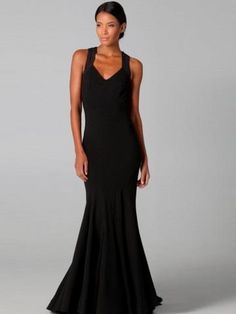2013 Style Trumpet _ Mermaid V-neck  Sleeveless Floor-length Satin Black Prom Dress _ Evening Dress. br_Product Name2013 Style Trumpet _ Mermaid V-neck  Sleeveless Floor-length Satin Black Prom Dress _ Evening Dressbr_br_Weight2kgbr_br_ Start From1 Unitbr_br_ br_br_NecklineV-neckbr_br_FabricSatinHe.. . See More V-Neck at http://www.ourgreatshop.com/V-Neck-C936.aspx