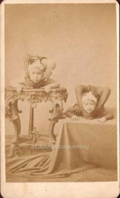 Contortionists 1880.