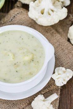 Cómo hacer crema de coliflor #recetas #verduras #hortalizas