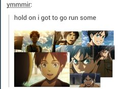 This should be a secret code for whenever u are gonna watch AOT!!!!! Come on fandom!!