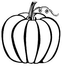 thanksgiving pumpkin coloring pictures are fun for kids in the holiday season pilgrims turkey dinner and the story of the first thanksgiving are just a - Fall Coloring Pages For Kids