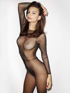 Emily Ratajkowski See Thru Bodysuit [nsfw] -For more hot pics check website