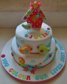 Birdhouse Cake - *