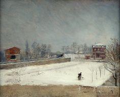 Giuseppe De Nittis - Winter Landscape [c.1880] | Flickr - Photo Sharing!