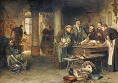 Eduard von Grützner - In der Klosterkueche