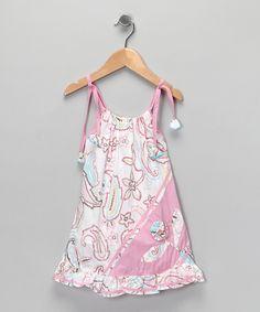 Pink Paisley Stella Dress