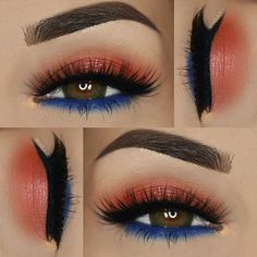 We are in ❤️❤❤ with this look @paola.11 created with the Marrakesh eyeshadows.