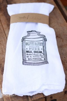 These farmhouse flour sack towels are perfect for any kitchen! They also make great gifts with many fun prints and designs to choose from! All of the prints are done by hand at Rustic Honey. *This is