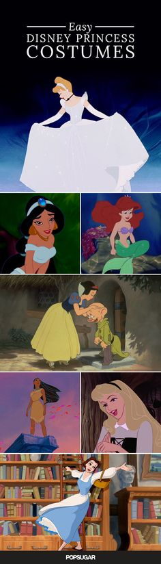 How to gave the most stylish costume based on your favorite Disney Princesses.
