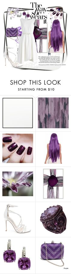 """""""The Way She Wears It"""" by jaymagic ❤ liked on Polyvore featuring By Lassen, Designers Guild, Black Orchid, Zoe Bios Creative, Steve Madden, Vintage, City Style, Dasein and Chicwish"""