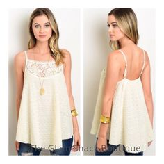 Very cute tank. Fits loose & flowy.    Adjustable straps. Medium fits 8/10.    FREE US Shipping!!🌟 | Shop this product here: http://spreesy.com/theglamshackboutique/665 | Shop all of our products at http://spreesy.com/theglamshackboutique    | Pinterest selling powered by Spreesy.com