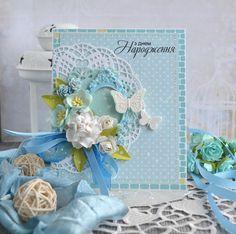 Мастерская радости: Голубая открытка и про певунью)