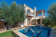 Eleon Residence in Stavromenos, Rethymno Rethymno Crete, Crete Greece, Villa, Mansions, World, House Styles, Outdoor Decor, Holiday, Vacations