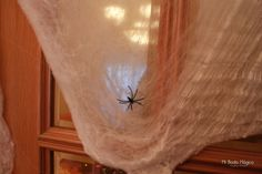 Decoración halloween: Telas de araña