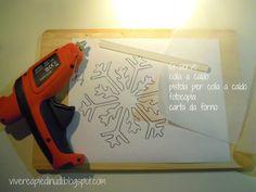 Xmas, Christmas, Snowflakes, Diy Projects, Diy Crafts, Halloween, Handmade, Mamma, Youtube