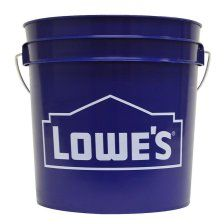 United Solutions Lowe's General Bucket at Lowe's. Each pail is designed with reinforced rings around the top for added stability and prevention of distortion when carried. Glass Backsplash Kitchen, Backyard Beach, Decor Pad, Buy Tile, 2 Gallons, Lowes, The Unit, Buckets