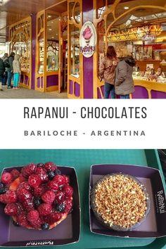 Rapanui, a melhor loja de chocolates de Bariloche (Argentina)! - Juny Pelo Mundo Gastronomia, Comida, Restaurante, Culinária, Resenha, Loja, Doceria, Dessert