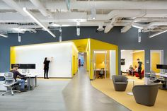 Soft Chairs from Davis Furniture in the Microsoft Vancouver office - designed by Gensler