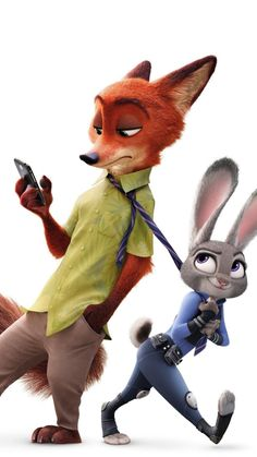Zootopia, judy hopps, nick wilde, animation movie, wallpaper - Different and Beautiful thoughts Nick Wilde, Disney Kunst, Disney Art, Disney Movies, Disney Animated Movies, Movie Wallpapers, Cute Cartoon Wallpapers, Iphone Wallpapers, Wallpaper Wallpapers