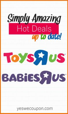Yes We Coupon - Latest Deals , Clearance And Coupons! Money Savers, Money Saving Tips, Baby Toys, Baby Baby, Make It Rain, Rat Race, Babies R Us, Shopping Tips, Frugal Tips