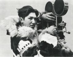 Before Inupiat Eskimo began performing for the camera, he worked behind it as a cameraman.
