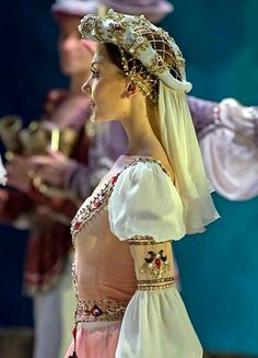Beautiful theatrical ballet costume