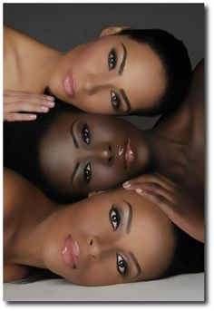 wedding makeup looks for african americans | The Bohemian Bridal Looks Part 1 Defined Eyebrows - African American ...