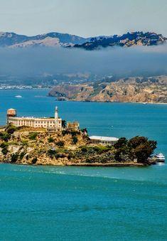 Alcatraz,  San Francisco, California. Photo by Andy New.