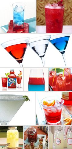 Patriotic Drinks
